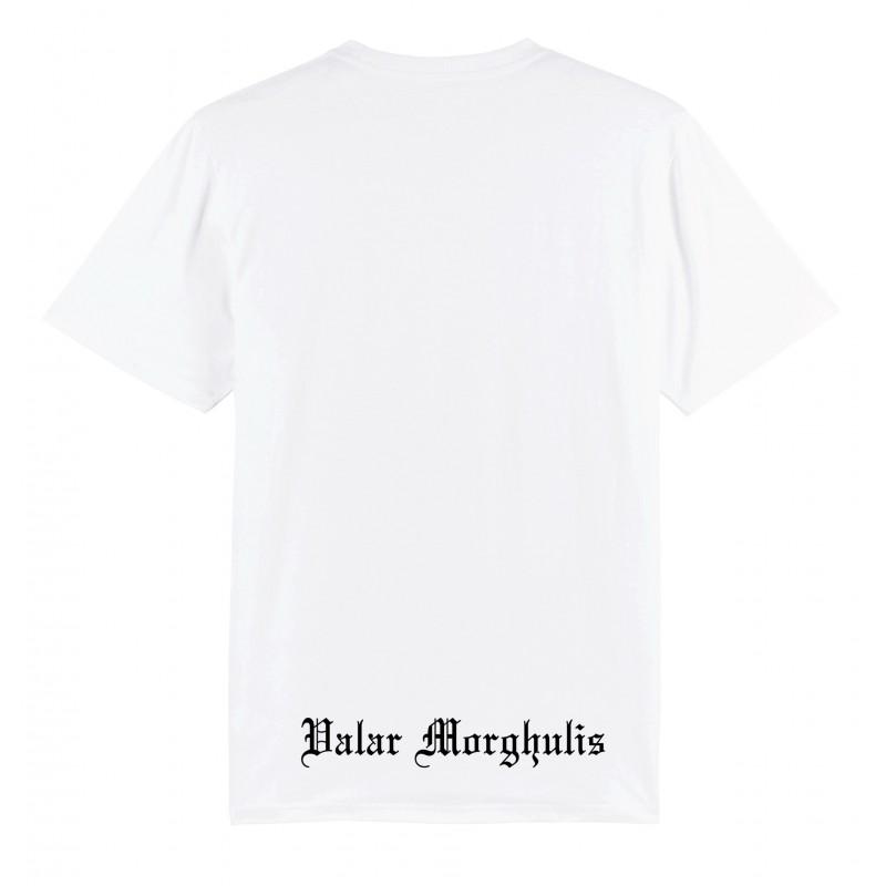 T-Shirt Valar encadré Blanc