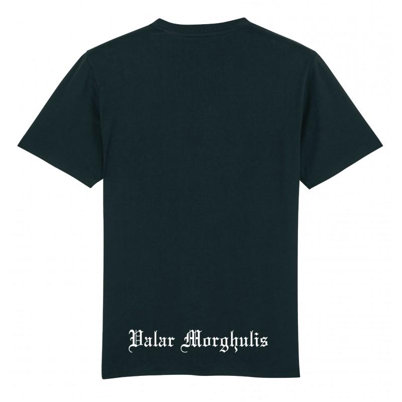 T-Shirt Valar encadré Noir